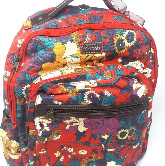 c98e1c832b18 Sakroots Flower Power Peace Backpack